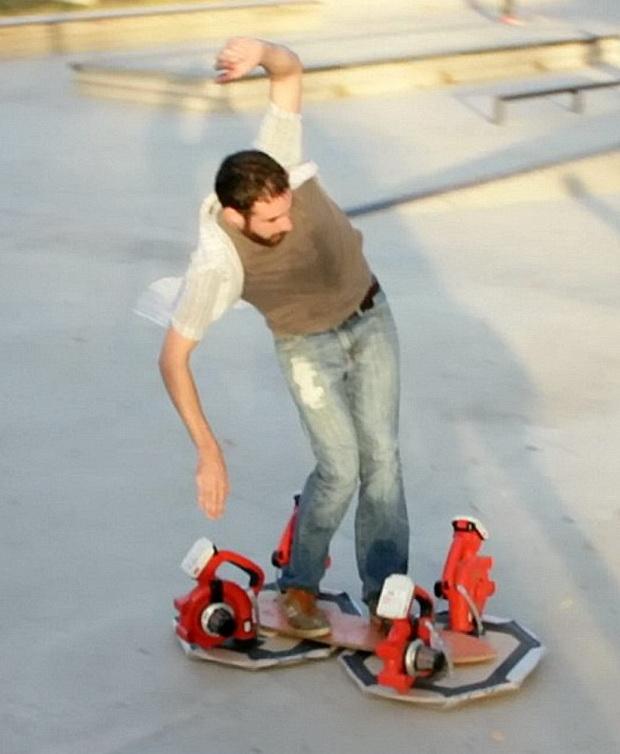 Как сделать летающий ховерборд своими руками